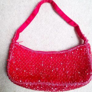 Bloomingdales Beaded Evening Handbag NEW